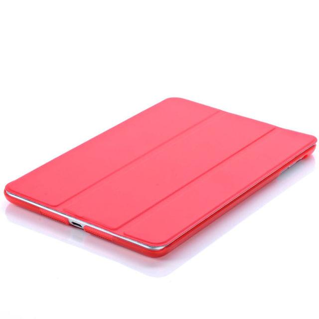 Smart Cover For iPad Mini4 Ultra Slim PU Leather Case + PC translucent back case for Apple ipad mini 4 3 2 1 IM401