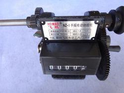 Wysokiej jakości NZ-1 NZ-5 ręczny ręczny dwufunkcyjny licznik cewek i cyfrowe ręczne nakręcanie wskaźnik ręczny podwójna prędkość uzwojenia