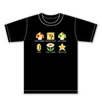 Super Mario Pixel 2 Anime Top Tee High Quality Cosplay Short Sleeve T Shirt