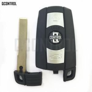 Image 2 - QCONTROL Araba Uzaktan akıllı anahtar 868 MHz için BMW 1/3/5/7 Serisi CAS3 X5 X6 Z4 araba kontrolü Verici Çip ile