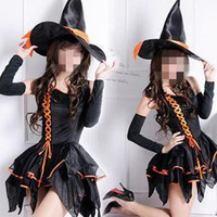 Fantasia Women Halloween Sorceress Costumes Witch Cosplay wizard Role play Easter Thanksgiving Day parade Masquerade party dress