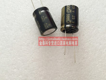 20PCS/50PCS ELNA audio fever capacitor 25V3300UF 16X20 RA3 Electrolysis Black Gold free shipping