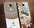 Cover for Huawei Honor 7 Designer Luxury Stylish Silicone Coque for Huawei Honor 7 Fashion Cartoon Cute TPU Phone Cases