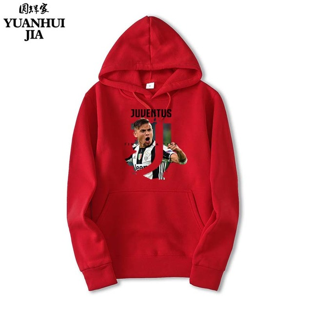 2017 Man/women Juventus print Sportswear Hoodies male Hip Hop Fleece Long Sleeve Hoodie Slim Fit Sweatshirt Hoodies for men 1