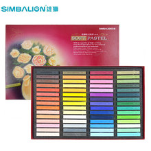 Simbalion Soft Oil Pastel SP 60 Colors Soft Pastel Stick Toner Crayon Coloring Graffiti Blackboard Poster School Stationery(China)