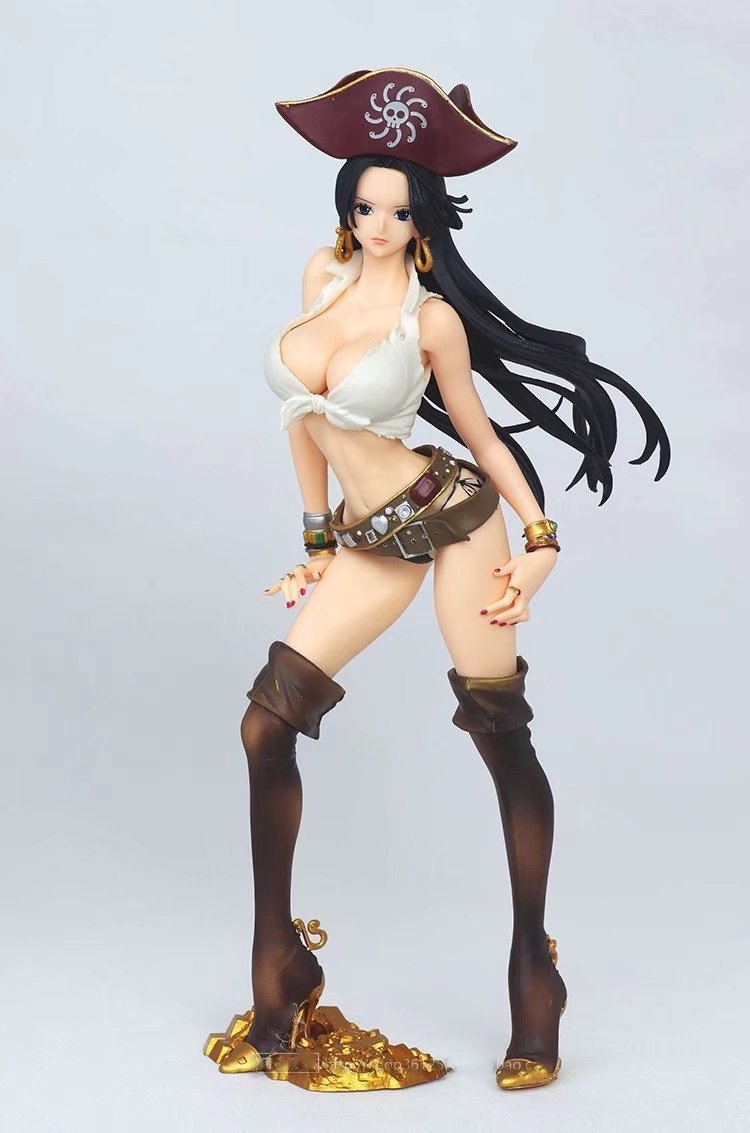 23cm One Piece Boa Hancock Sexy Anime Action Figure PVC Collection Figures Toys Collection For Christmas Gift Without Retail Box