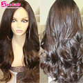 Brazilian Silk Top Full Lace Human Hair Wigs Body Wave Silk Top Lace Front Wig 7A Virgin Hair Glueless Lace Wigs For Black Women