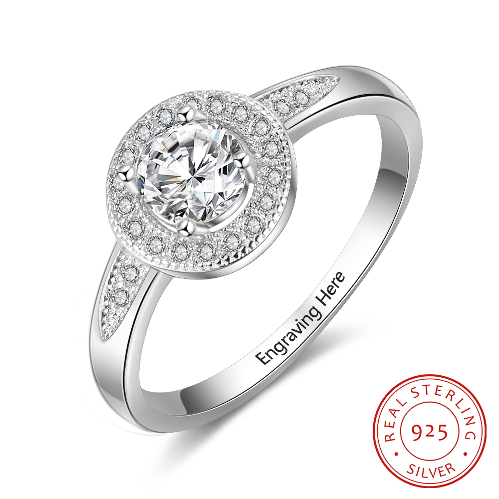Personalized Solitaire Cubic Z...
