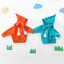 BanKu 2018 Spring and Autumn new fashion children's long-sleeved cartoon alpaca jacket casual hooded sweater 12M 18M 24M 3T 4T