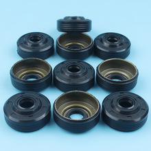 Crankshaft Crank Oil Seal For Partner 350 351 370 371 390 420 Chainsaw 10Pcs/lot