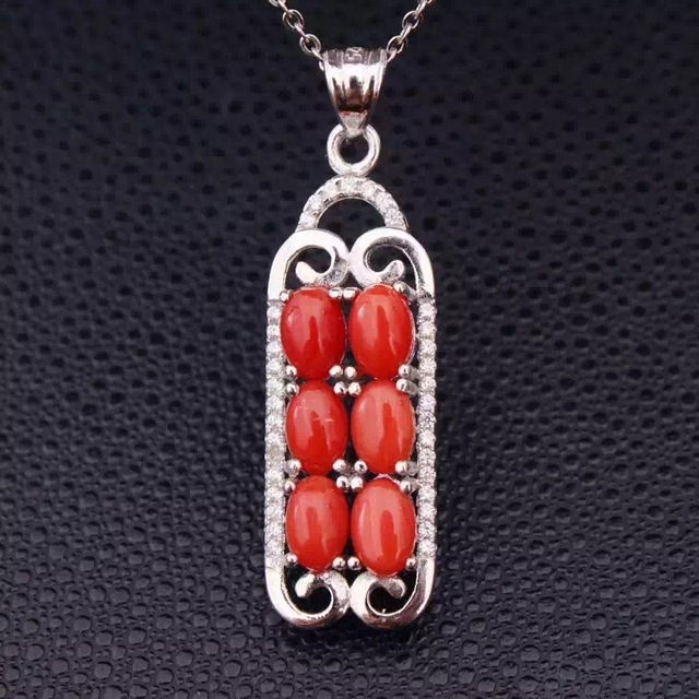 red sterling pendant with grande img products coral mira silver jewelry design