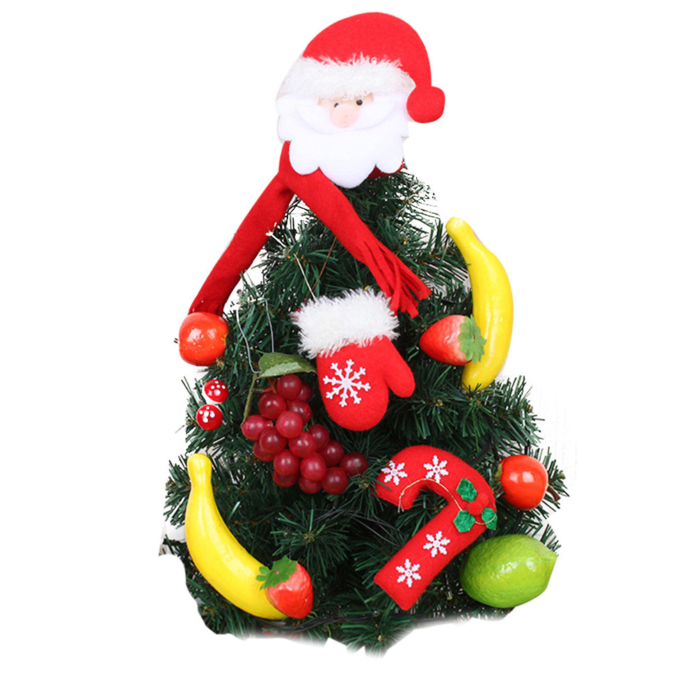 Christmas tree with 1 set small ornament Artificial ...