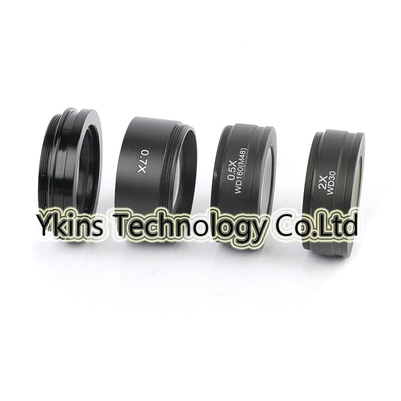 WD165 WD30 0.5X/0.7X/1X/2X drei auftrag stereoskopischen 1-7/8