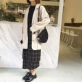Irregular All Match Simple Plaid Slim Casual Fashion Skirt
