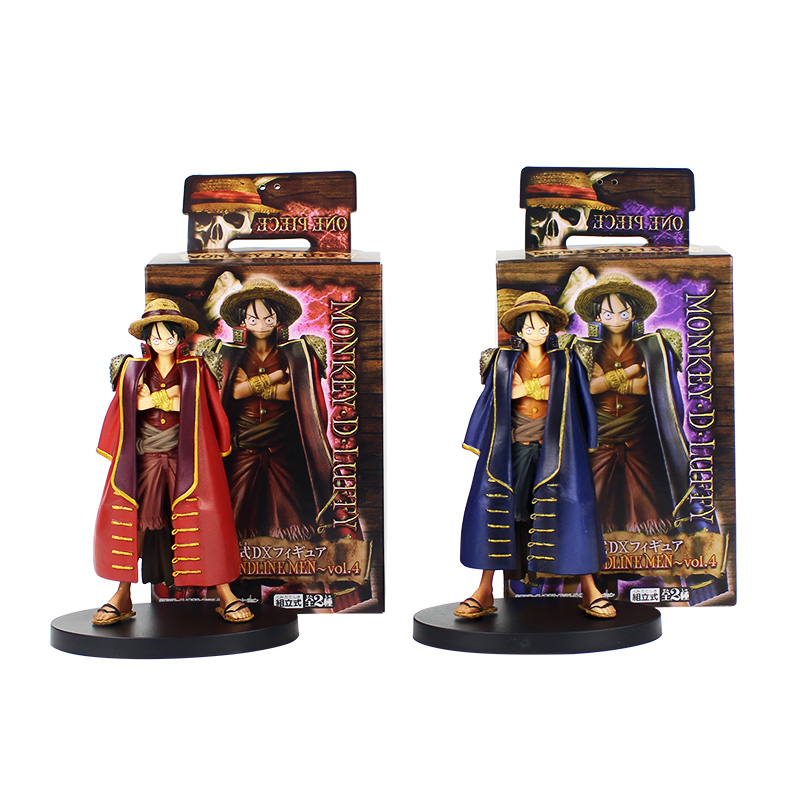 2pcs lot 16 17cm One Piece The Grandline Men Lady Monkey D Luffy Usopp  Marco Roger Nami Nico Robin Figure Model Collection Toys-in Action   Toy  Figures from ... 067a59134aa7