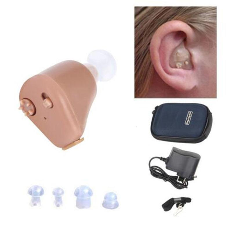 Hearing Aid Elder Rechargeable Old People Hearing Aid Behind Ear Sound Amplifier Health Care Tools L4 feie rechargeable hearing aid earphones s 101 bluetooth style behind ear sound amplifier usb charger free shipping