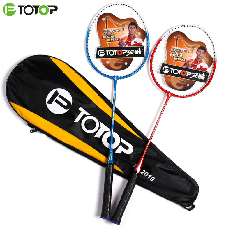 Special Price Of 1 Pairs Of Genuine Badminton Racket Loaded Couple Double Beat Super Light And Resistance To Fight, Get Racket