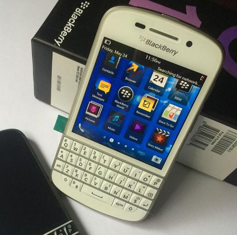 US $116 94 |Unlocked Original Blackberry Q10 Mobile Phone 8MP 2GB RAM 16GB  ROM touch screen + Qwerty keyboard, Free shipping-in Cellphones from