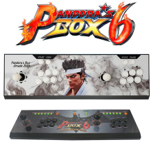 Household Pandora's Box 6 arcade Joystick game console ,HD VGA output jamma multi games 1300 in 1 fighting game machine все цены