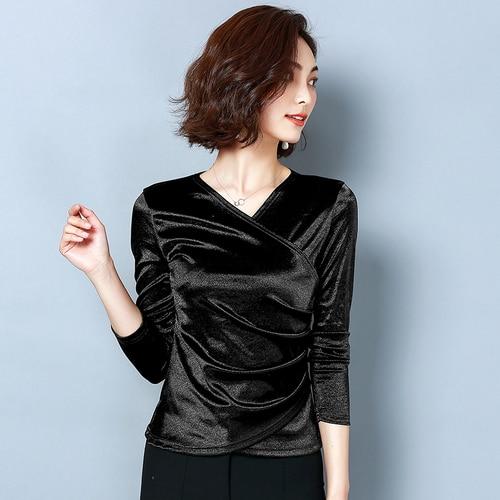 Kadın Giyim'ten Bluzlar ve Gömlekler'de GML Moda 2019 Yaz Kadın gotik bluzlar'da  Grup 1