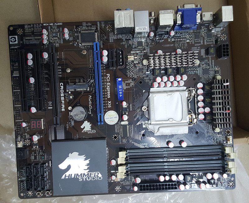 H55 P55 1156Used Original for JETWAY Hi06 LGA1156 DDR3 Motherboard for Intel H55 Motherboard