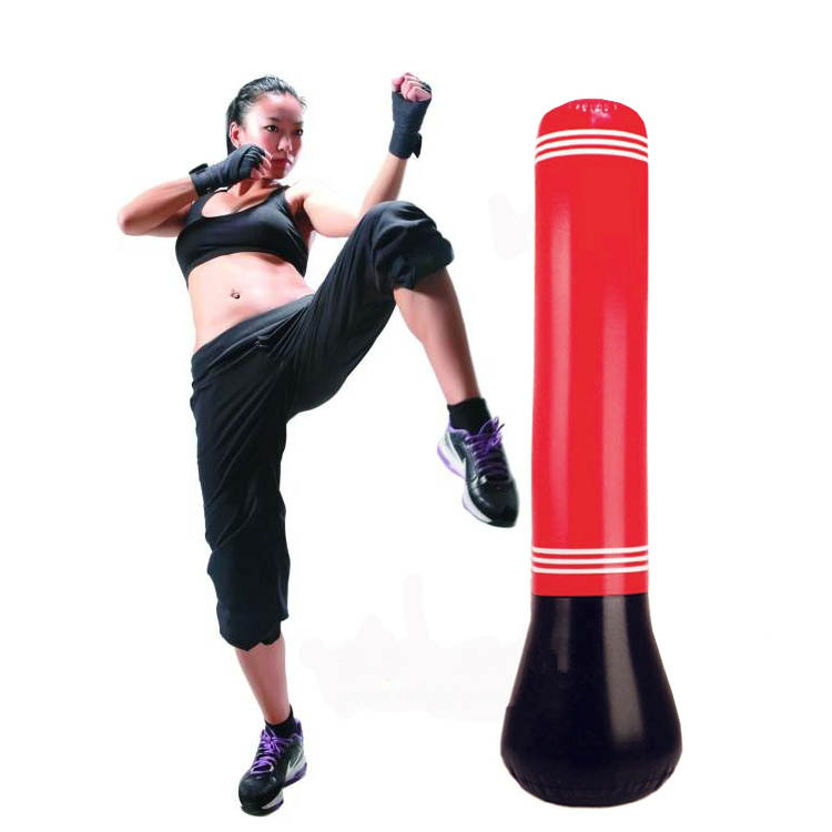 Training Fitness Boxing Punching Inflatable Aerated Irrigation water Pure Fitness Boxing MMA Target Bag Sandbags Punch Target