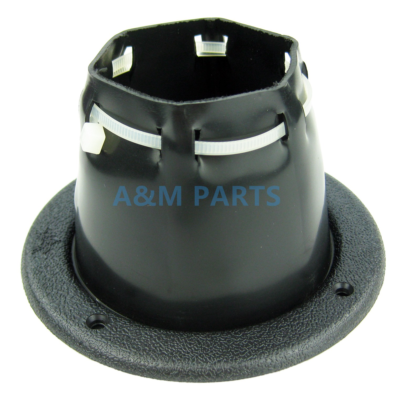 Standard Transom Boat Steering Cable Boot Motorwell With Wire Tie 120mm Black