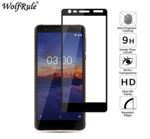Full Cover Tempered Glass For Nokia 3.1 Screen Protector For Nokia 3 Glass TA-1020 9H Hardness Protective Film For Nokia 3.1
