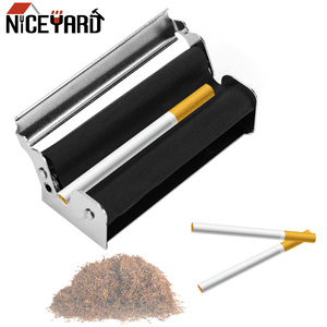 NICEYARD Portable Cigarette Maker Smoking Accessories Rolling Machine Tobacco Roller(China)