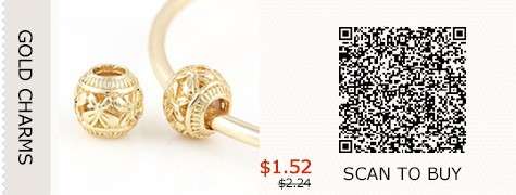 Gold-Charm-beads