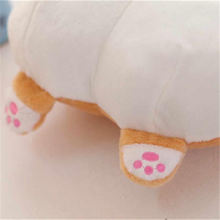 Новая попка корги плюшевая подушка корги бедра грелка руки мультфильм диван в виде животного Подушка чучела собака Детские игрушки