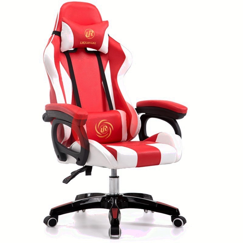 Luxury Quality Office Poltrona Gaming Silla Gamer Boss Esports LOL Chair With Wheel With Footrest Artificial Leather Chair