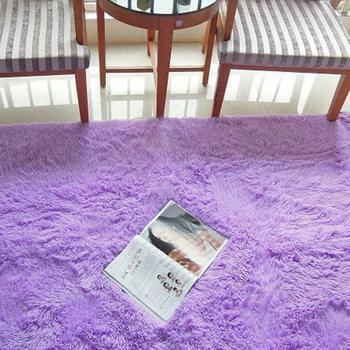 ALITEXTILEBTOC Carpet Polyester Silk Carpets For Hallway Bedroom Living Room Aisle Bedside Plus Size Carpets