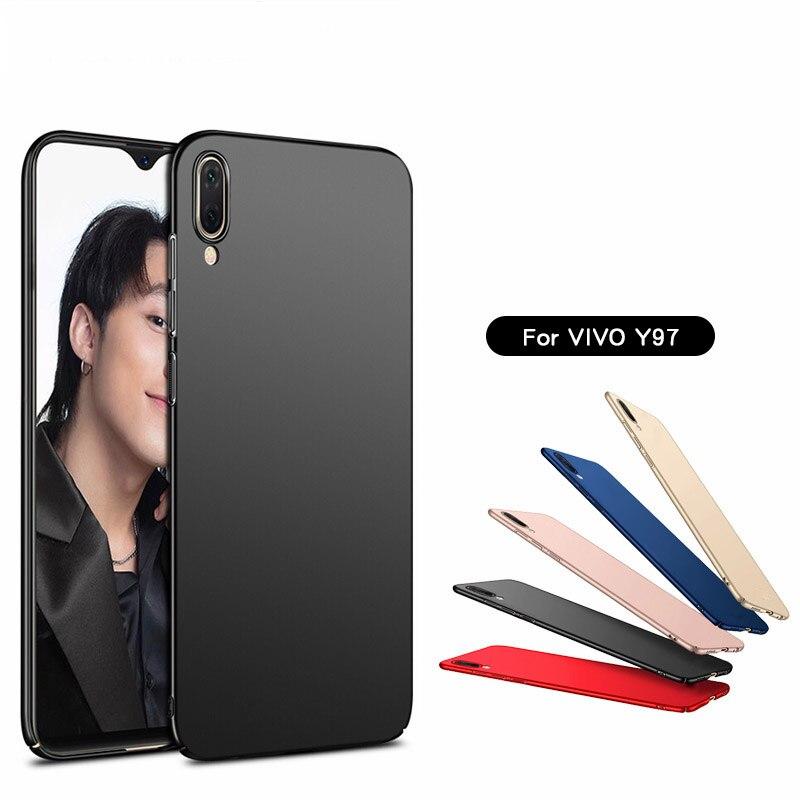 sFor Cover Vivo Y97 Case Ultra-thin Smooth Hard PC Back Case For Vivo Y97 Cover For Vivo Y97 Case