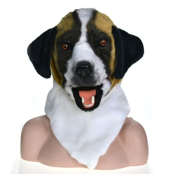 Full head animal Moving Mouth cosplay carnival costume dog bleach animal masks for sale