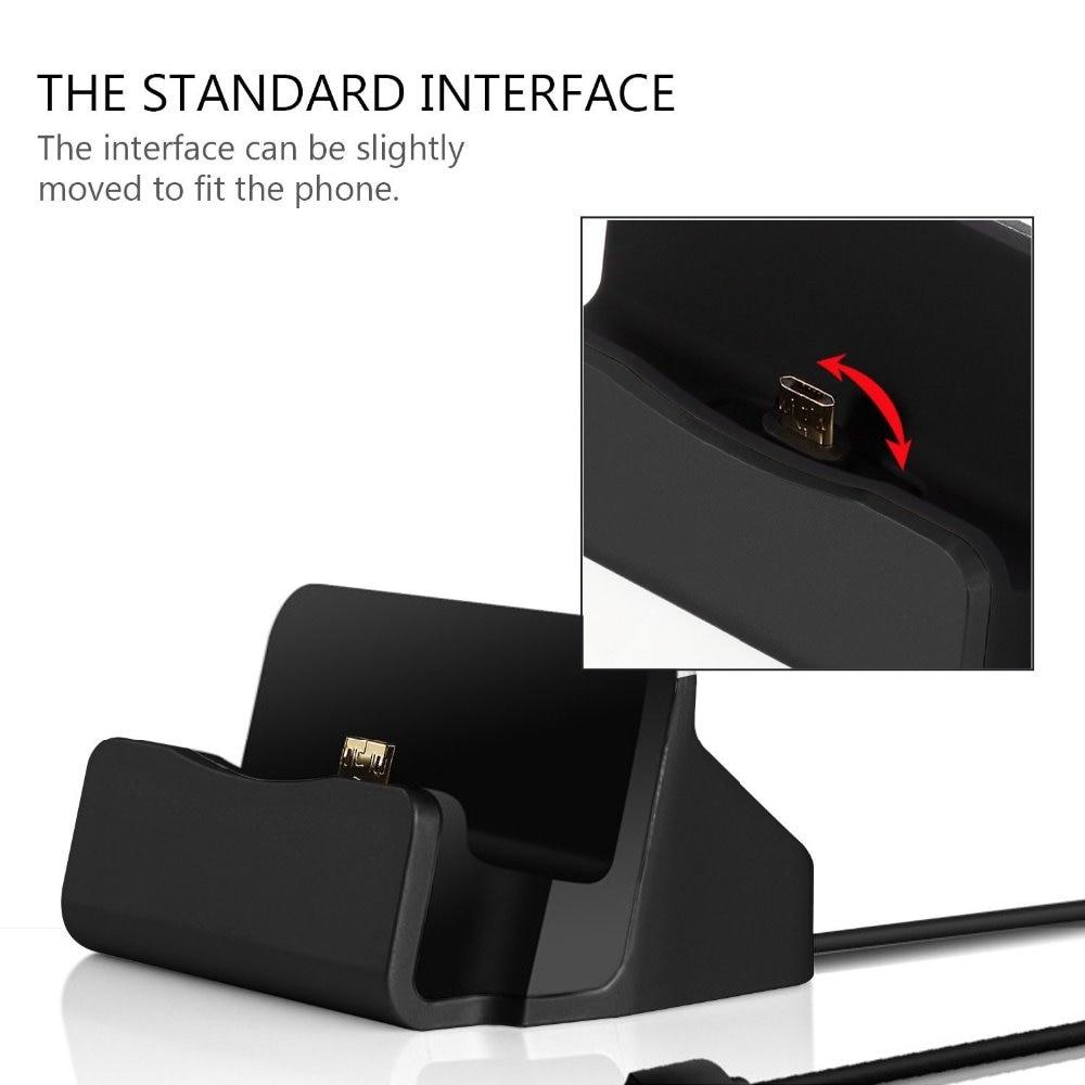 Cepat Pengisian Micro USB Dock Station Untuk Samsung Galaxy J1 J3 J5 - Aksesori dan suku cadang ponsel - Foto 2