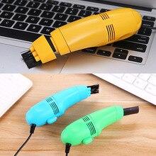 цена на Computers Laptop 1 Pc Keyboard Cleaner High Quality Vacuum Brush Mini USB Desktop Home Office Clean Tools Dust Collector