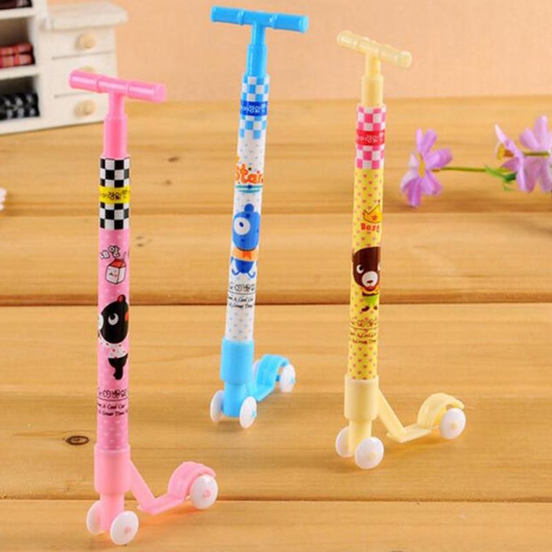 20 Teile/los Kugelschreiber Nette Roller Form Kugelschreiber Studenten Stift Briefpapier-kind-geschenk Spielzeug Schulsachen Mode Kind Geschenke