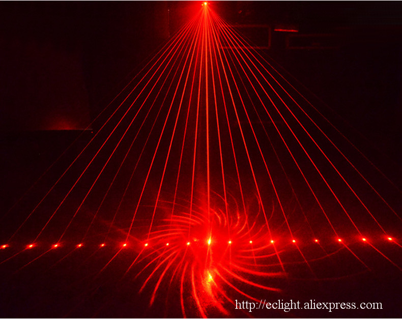 Lanterna DJ efeito de iluminação do estágio do laser Do Partido de dança