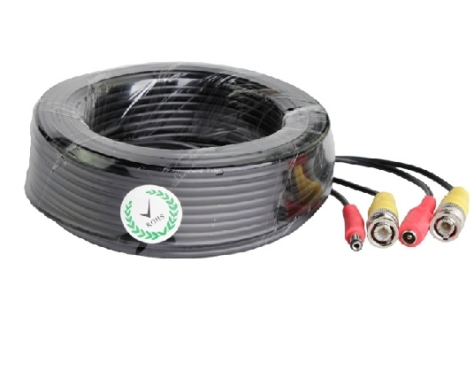Security BNC 15M 49FT DC Power Cable For CCTV Security CameraSecurity BNC 15M 49FT DC Power Cable For CCTV Security Camera
