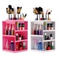 360 Degree Rotation Rotating Make up Organizer Cosmetic Display Brush Lipstick Storage Stand