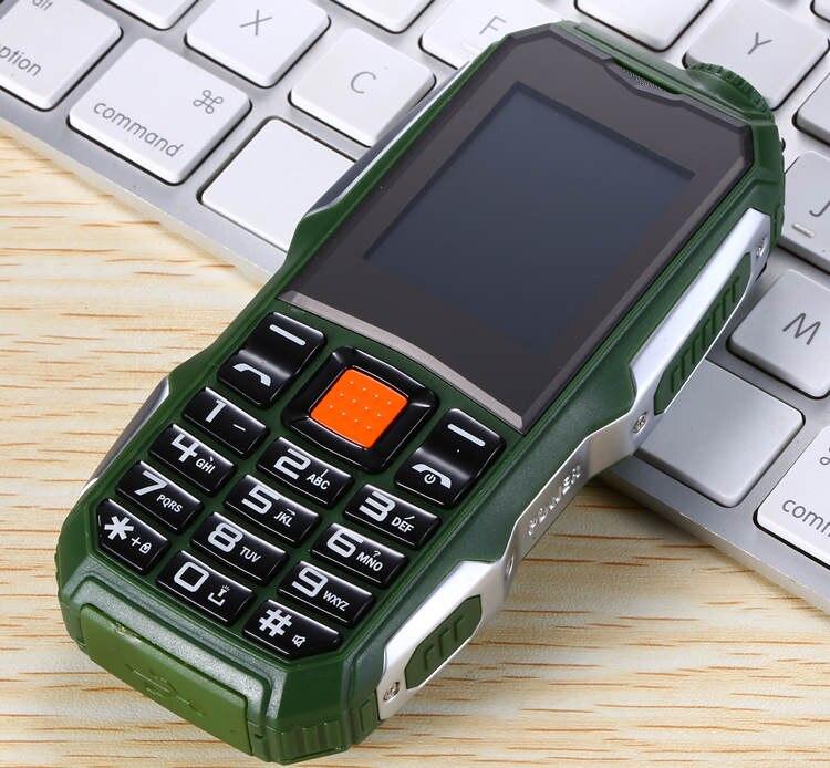 1,7 дюймов дешевые прочные мобильные телефоны с двумя sim-картами Китай GSM FM радио фонарь кнопочный мобильный телефон русская клавиатура Сотовые телефоны S8 - Цвет: Зеленый