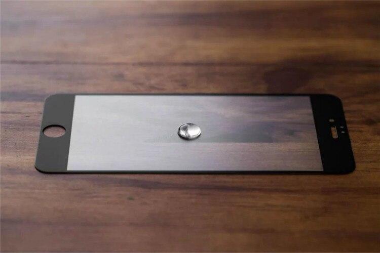 9H 2.5D matowy matowy pełna pokrywa szkło hartowane Screen Protector dla iPhone X XS MAX XR 10 8 7 6s 6 Plus 7Plus anty odciski palców 29