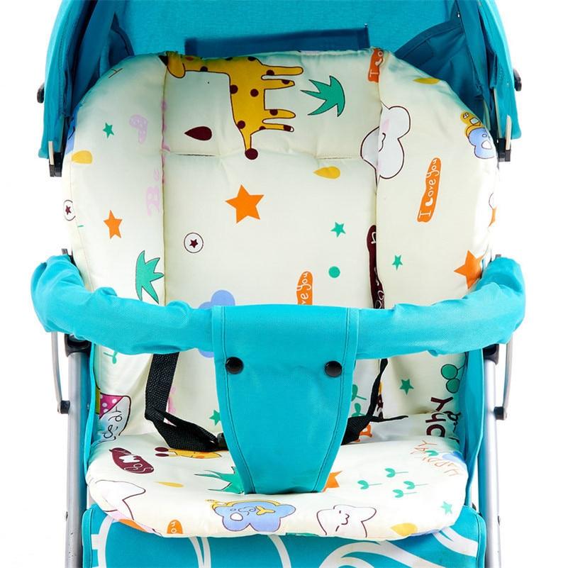 Baby Stroller Cushion Quality Thicken Warm Comfortable Child Cart Seat Cushion Soft Pram Pad Pushchair Cotton Stroller Mat baby stroller winter pad general soft seat cushion child cart seat mat kids pushchair cushion for 0 18m stroller accessories
