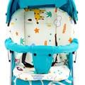 Carrinho De bebê Almofada Qualidade Engrossar Quente Confortável Carrinho de Criança Assento Almofada Macia Pad Carrinho De Bebê Carrinho de Bebé Carrinho De Algodão Tapete