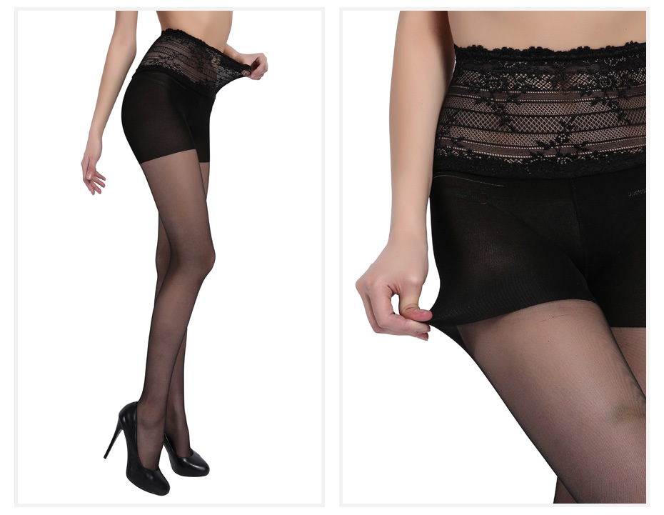 e8a8785f089e6 Detail Feedback Questions about BONAS Black Lace Nylon Pantyhose ...
