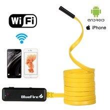 Flexível à prova d' água Wi-fi Resoluções HD Endoscópio Cobra Inspeção Câmera com 6 Luzes LED Ajustáveis para Todos Os iPhones/Android
