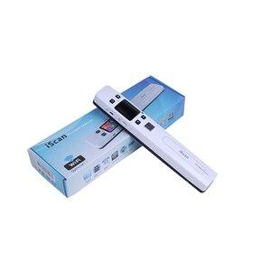 Image 5 - Szybki przenośny skaner A4 rozmiar skaner dokumentów 1050DPI JPG/PDF obsługa 32G TF Card Mini skaner pióro z Pre View PIcture