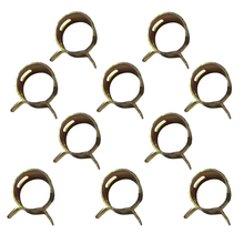 New 10Pcs 6mm Spring Clip Fuel Line Hose Water Pipe Air Tube Clamps Fastener #S018Y# High Quality