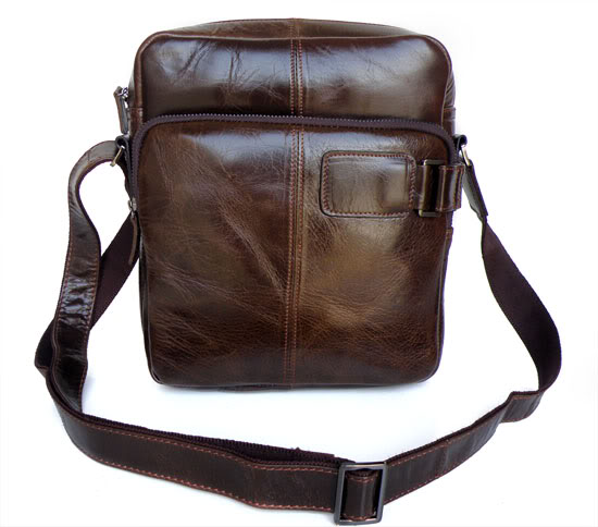 Fashion men messenger bags genuine leather vintage male shoulder bag crossbody bags husband gift men s
